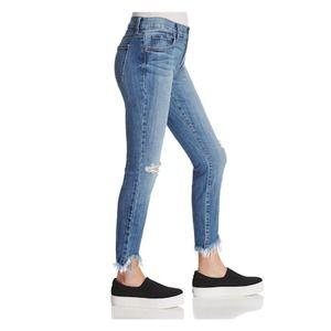 PISTOLA Audrey Chewed Hem Santra Cruz Skinny Jeans